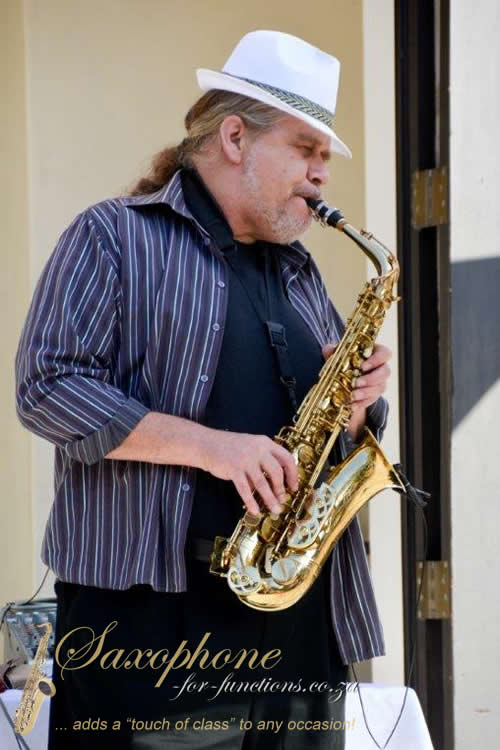 Friedel Knobel - Private party Saxophonist