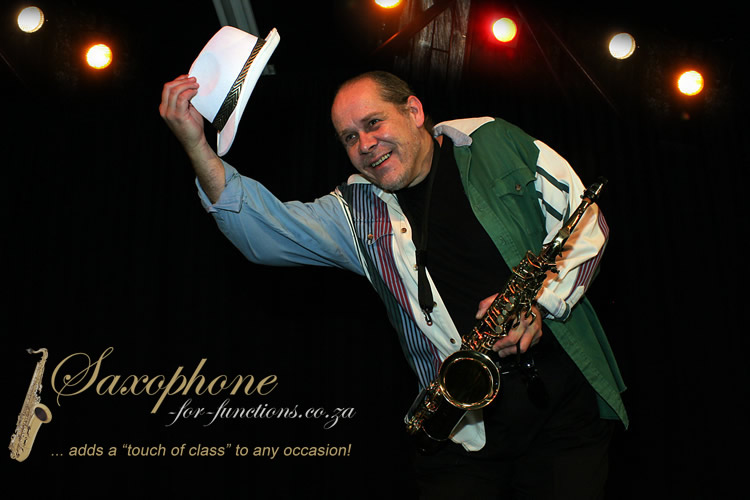 Friedel Knobel Saxophonist For Functions Pick 3