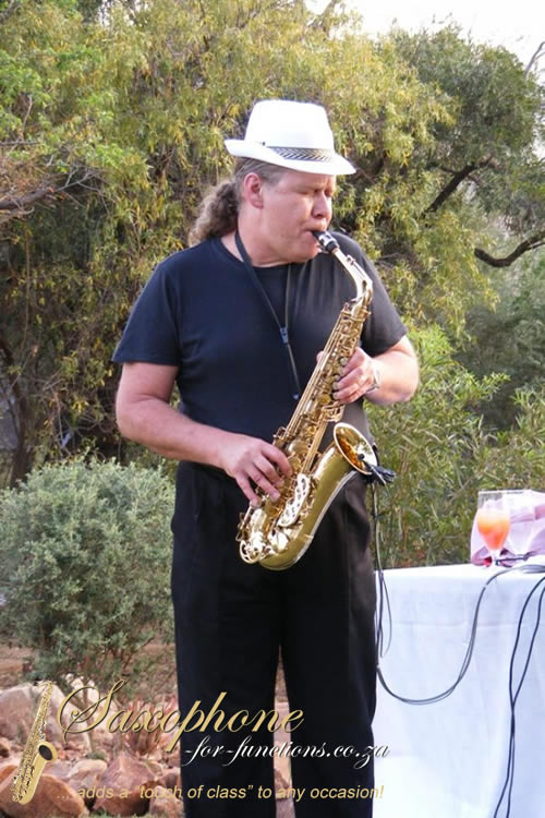 Saxophone For Functions Golden Party
